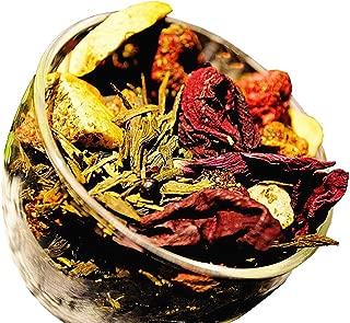 Berry Green Tea - Chinese Tea - Caffeinated - Loose Leaf Tea - 2oz