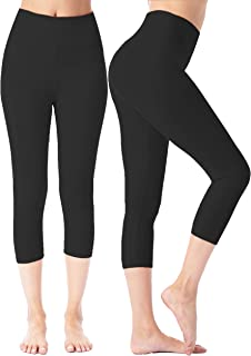 Best plus size knit capri leggings Reviews