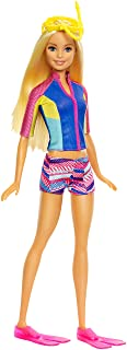 Barbie Doll with Color-Change Top, Puppy Squirt Toy and...