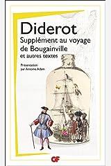 Supplément au voyage de Bougainville et autres textes (Philosophie) (French Edition) Kindle Edition