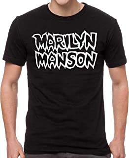 Marilyn Manson Men's Classic Logo T-Shirt Black