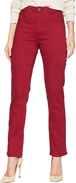 cd869ac6bf2 FDJ French Dressing Jeans. D-Lux Denim Pull-On Slim Ankle in Caramel.  $30.99MSRP: $90.00. Cranberry
