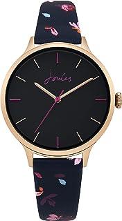 Joules Women's Analogue Quartz Watch with Leather Strap JSL003URG