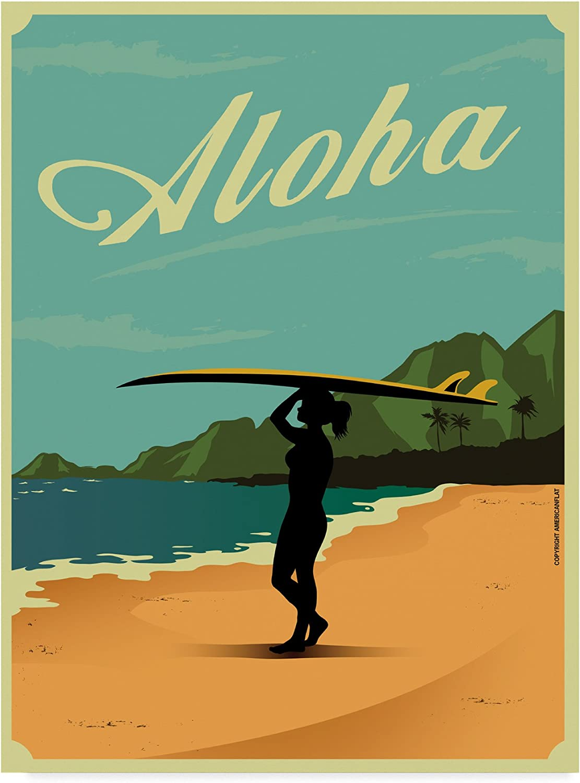 Aloha by American Flat, 14x19Inch