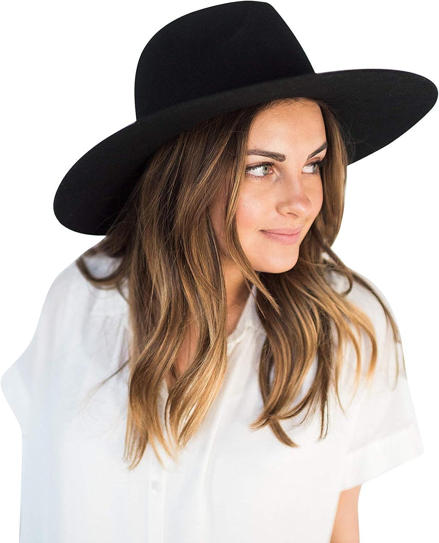 Gigi Pip Scottie Wide Brim Felt Wholesale 100% Women Australia Fedora Trust for