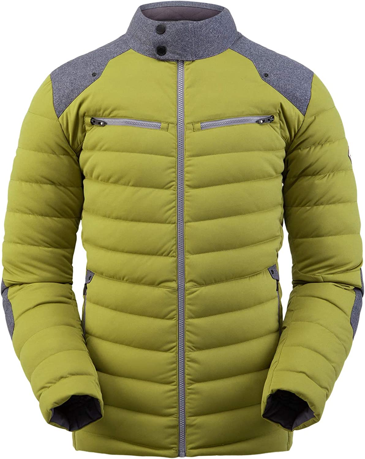 Spyder Men's Free shipping Alpine Now free shipping Stretch Down – Puff Jacket Paneled