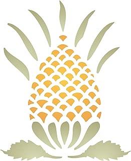Pineapple Stencil (Size: 3.25