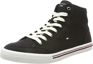 Tommy Hilfiger Herren Core Corporate Mid Textile Snkr Sneaker