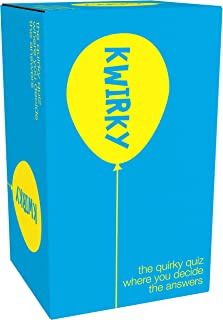 Games Adults Play Kwirky Trivia Game, Blue