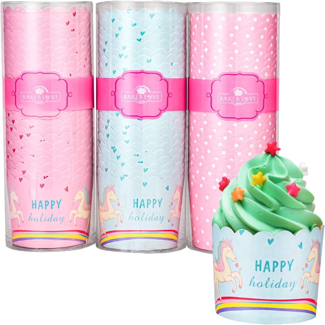 AIKEFOO Premium Cupcake Ranking TOP15 Baking Disposable Cups Popular brand Cu
