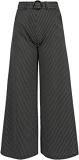 30870f4a62 Amazon.it: pantaloni donna a palazzo - Nero