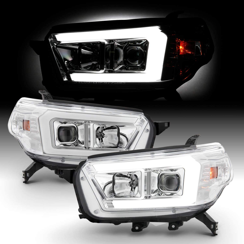 Fits ◆高品質 2010-2013 Toyota 定価 4Runner LED Light Tube Headlight Projector
