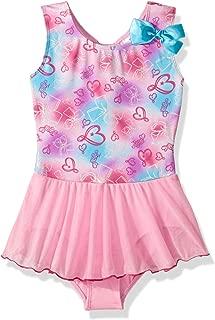 Girls' Big Rainbow Bows Dance Dress
