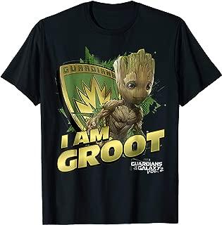 Guardians Vol.2 I AM GROOT Shield Splash T-Shirt
