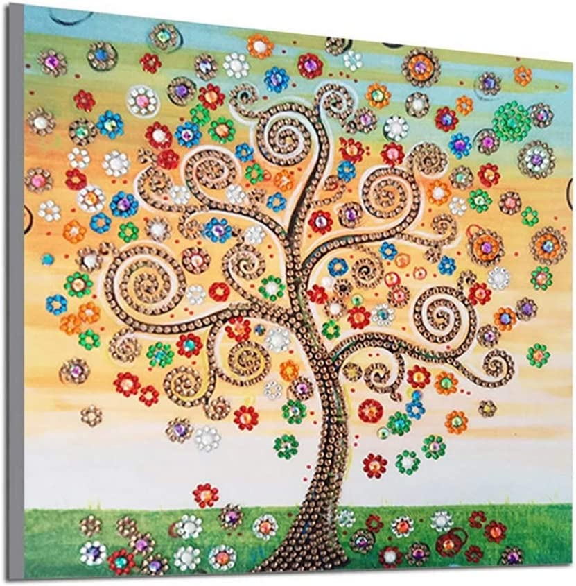 Diamond Painting Kits Tree 80x220cm 32x88in Large 5D A Year-end annual account High order