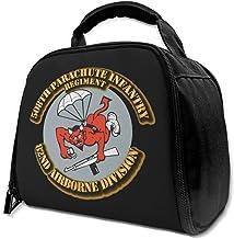 508th Paracaídas Regiment PIR 82nd ABN - Bolsa de almuerzo aislada con aislamiento para picnic