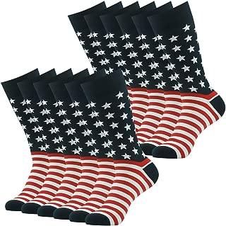 Best mens american flag dress socks Reviews