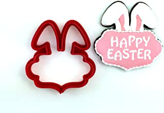 Bunny Ears Plaque Cookie Cutter