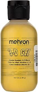 Mehron Makeup 3D Gel (2 ounce) (Clear)