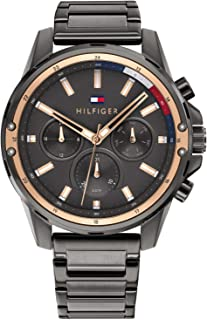 Tommy Hilfiger Men's Analogue Quartz Watch with Stainless Steel Strap 1791790