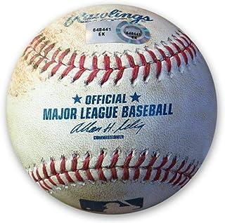 Zack Greinke Game Used Baseball 6/1/14 Dodgers Pitch in Dirt v/Marte EK648441 - MLB Game Used Baseballs