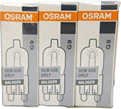 Osram Halopin G9 40w Tri- Pack (3x halogeenlampen)