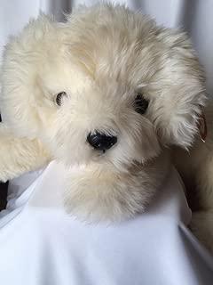 Ty Classic Plush Honey Fluffy Creamy White Dog 1995