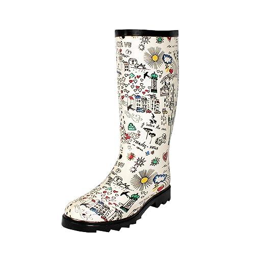 291ad222cbf68 West Blvd Women s Mid Calf Waterproof Rainboots