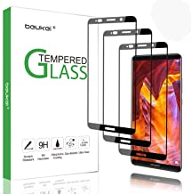 (3-Pack) Beukei for Huawei Mate 10 Pro Screen Protector Tempered Glass, Glass with 9H Hardness, with Lifetime Replacement Warranty (Not Fit for Mate 10)