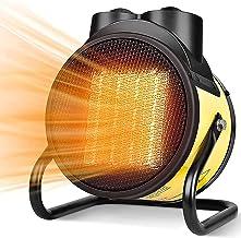 Calentadores Eléctricos Para Exteriores, Calefactor Industrial, Calefactor Cerámico PTC Ajustable, Calefactor Comercial Con Ahorro De Energía, Para Interiores Al Aire Libre 3000W ( Color : Amarillo )
