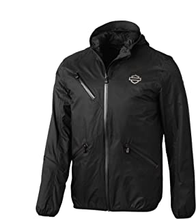 HARLEY-DAVIDSON Men's Cordura Ripstop Slim Fit Jacket, Black