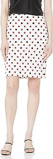 Women's Printed Crepe Skirt