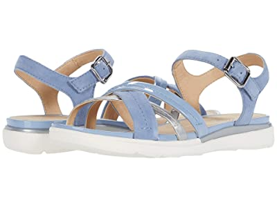 Geox Hiver 2 (Light Blue/Silver) Women