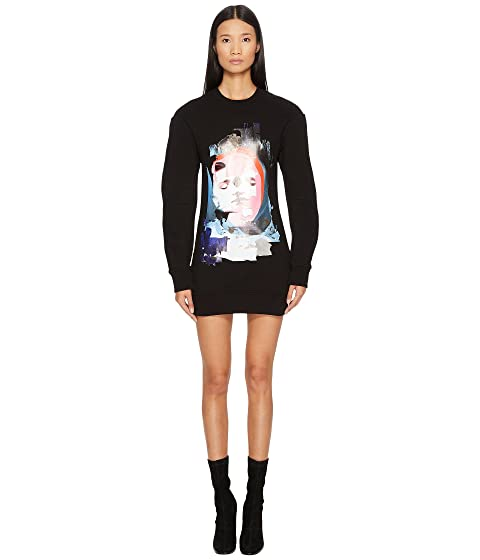 2801409866f Versus Versace Sportivo Felpa Donna Printed Sweater Dress at 6pm