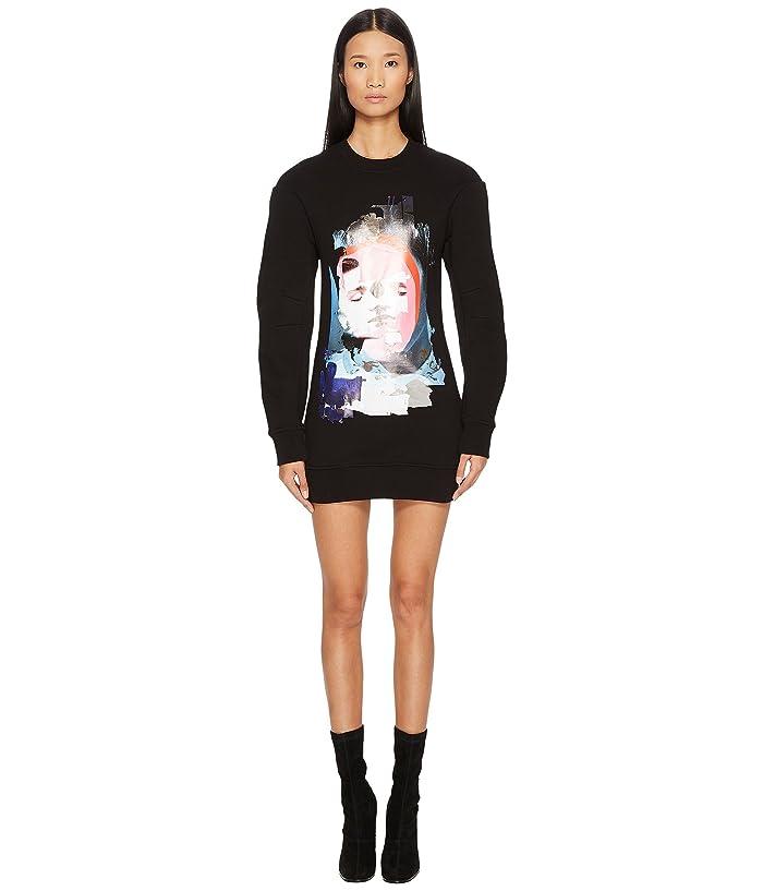 f276bb6d9af0 Versus Versace Sportivo Felpa Donna Printed Sweater Dress at 6pm