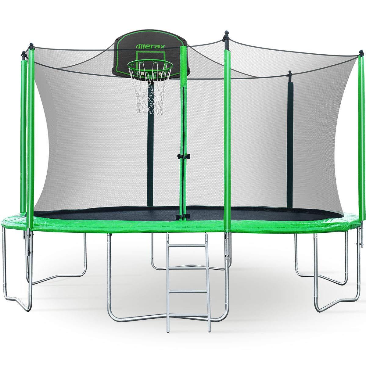 Merax Trampoline Safety Enclosure Basketball
