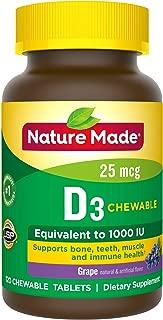 vitamin d supplement chewable