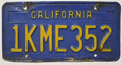 Suchergebnis Auf Für Us Nummernschild California