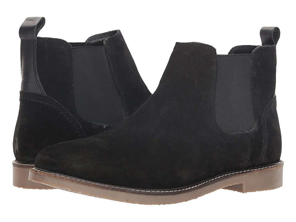 Steve Madden Nevada (Black Suede) Men