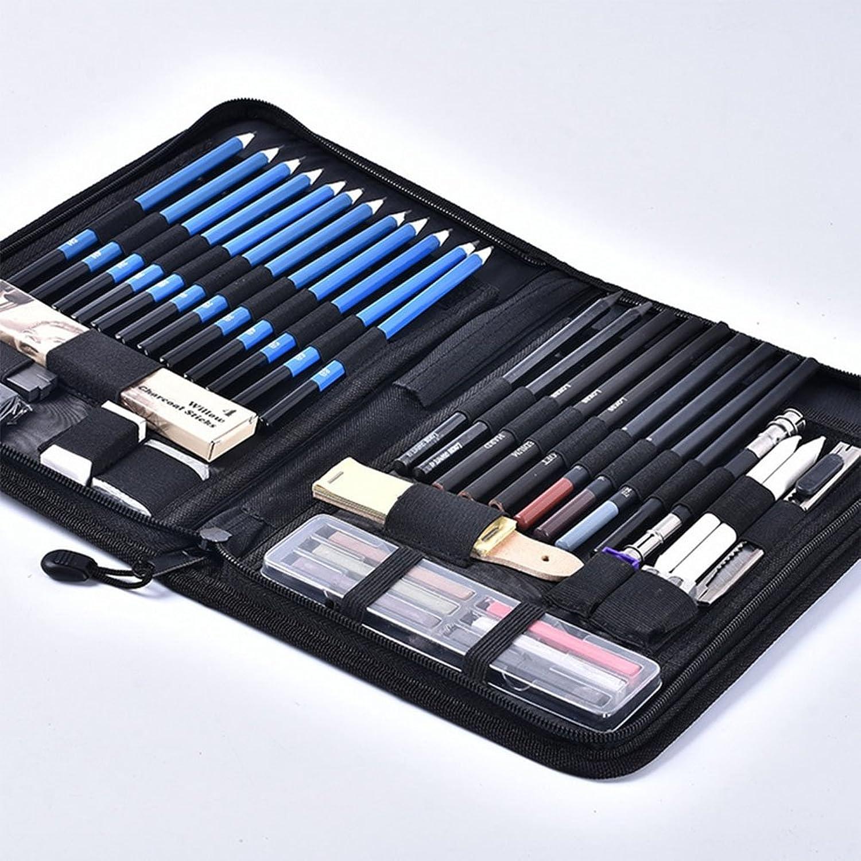 Iiinsixde Skizzen-Bleistift-Set Kohle-Bleistift-Kunst-Bleistift-Set 48 Stück zeigen Pinsel-Set B07CZ7QK6P B07CZ7QK6P B07CZ7QK6P    | Genial  2a762f