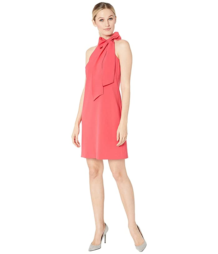 Vince Camuto Kors Crepe Halter w/ Bow at Neck (Watermelon) Women
