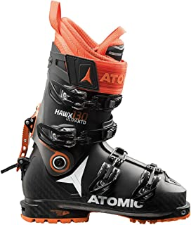 Atomic HAWX Ultra XTD 130 Alpine Touring Boot Black/Anthracite/Orange, 25.5