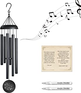 Guo Sheng Wind Chimes for Outside-32'' Memorial Wind...