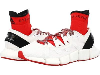 adidas by Stella McCartney Climacool Vento (White/Black/Red) Women