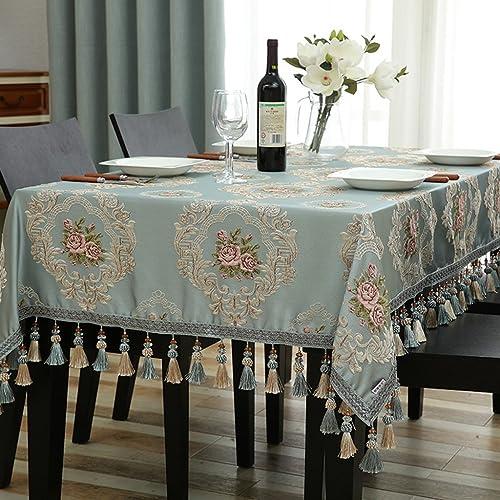 Küchenwäsche Rechteck Tischdecke europäischen Tuch Tee Tischdecken Wohnzimmer Esstisch ( Farbe   C , Größe   140160cm )