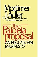 Paideia Proposal Kindle Edition