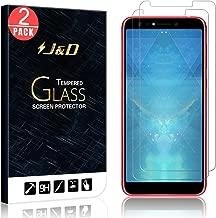 J&D Compatible for 2-Pack ZenFone 5 Lite/ZenFone 5Q Glass Screen Protector, [Tempered Glass] [Not Full Coverage] Ballistic Glass Screen Protector for ASUS ZenFone 5Q, ZenFone 5 Lite Screen Protector