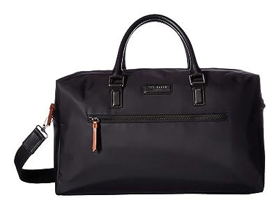 Ted Baker Rokket Satin Nylon Holdall (Black) Duffel Bags