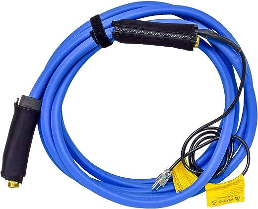"""Valterra W01-5325 25' x 1/2"""" Heated Fresh Water RV Hose, Blue"""