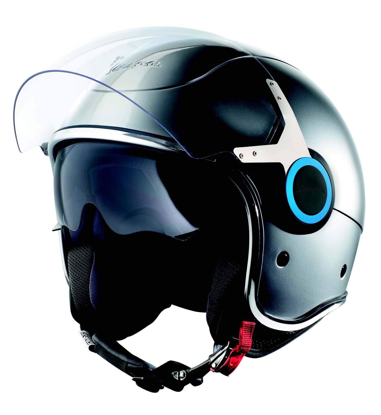 XS Vespa VJ 70^ Helmet Azure DOT Certified